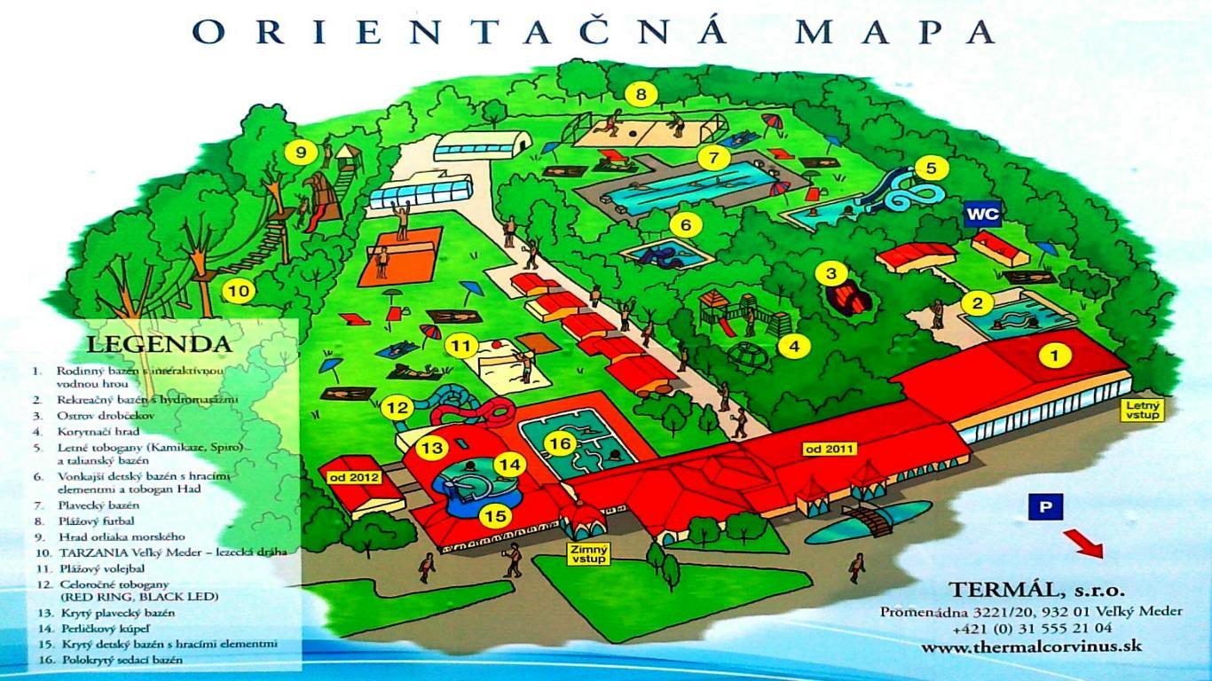 Termalni Lazne Slovensko Mapa